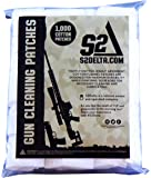 S2Delta Gun Cleaning Patches , Premium Quality, Highly Absorbent, Bulk Cleaning Patches,5.56,7.62, 9mm, .45, .308