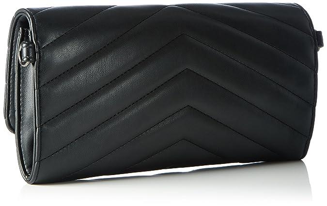 Bag SC4534PP02SA0000 Damen Handgelenkstaschen 15x25x4 cm (B x H x T), Schwarz (Black) Pollini
