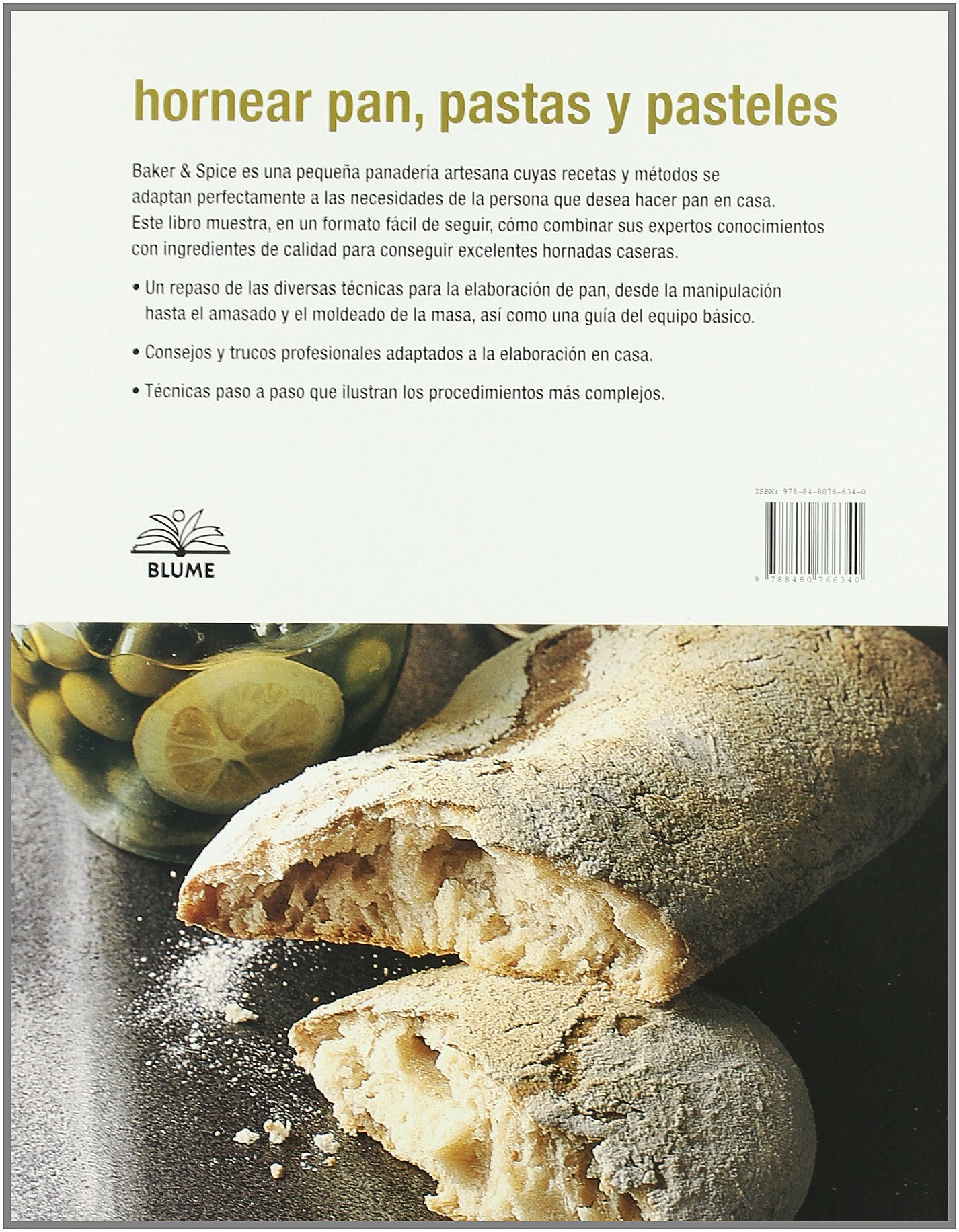 Hornear pan, pastas y pasteles (Spanish Edition) by Blume