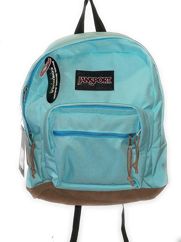 Jansport Men's Right Pack 100% Polyester Back Pack Bags Aqua Dash