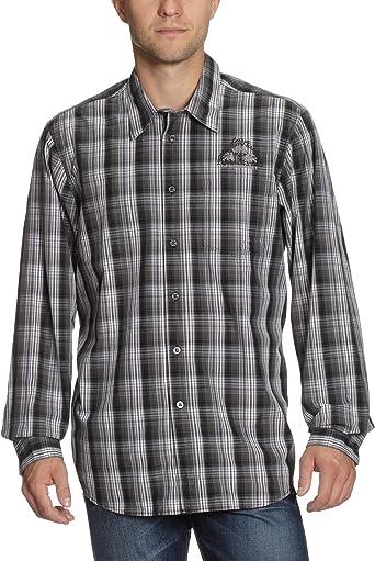 Lerros Camisa de Manga Larga, para Hombre, Negro (Negro 290), Talla Small: Amazon.es: Ropa y accesorios