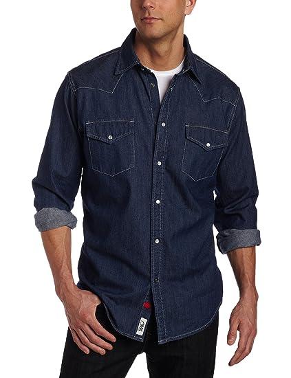 5e31885ccf Amazon.com  Mountain Khakis Men s Original Mountain Denim Shirt ...