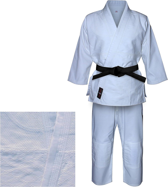 para ni/ños y Adultos Trajes Blancos de Judo V.Sports Uniforme de Judo en Blanco lej/ía Kimono