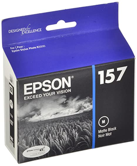 Amazon.com: Cartucho de tinta Epson UltraChrome K3 157 ...