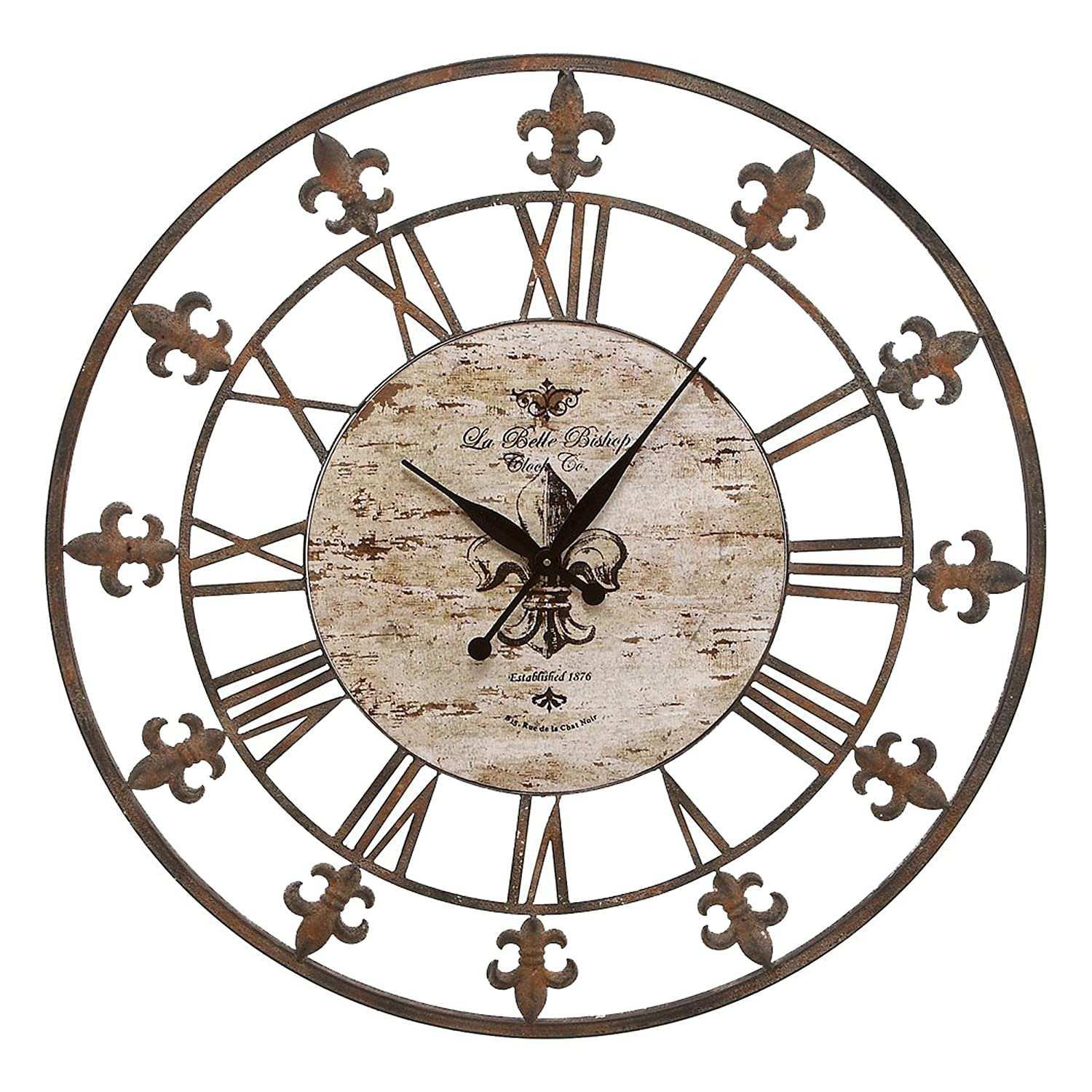 Save 59% on Metal Clock on Ama...