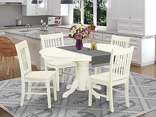 East West Furniture Kitchen Set