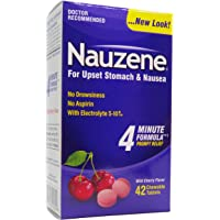 Deals on Nauzene Upset Stomach & Nausea Relief Chewable Tablets 42ct