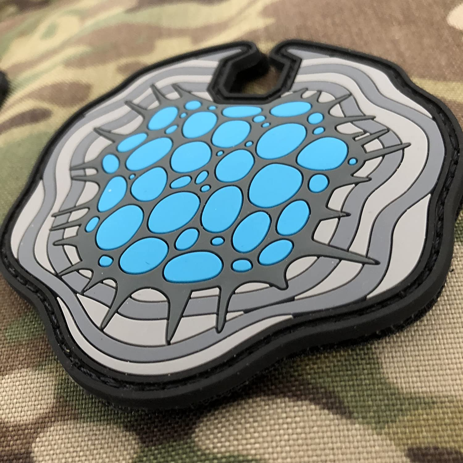 Cortical Stack 3D PVC Patch Glow in Dark TACOPSGEAR Altered Carbon