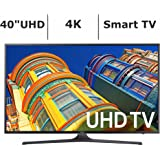 Samsung UN40KU6290 40-Inch 4K 120Hz Ultra HD Smart LED TV (Certified Refurbished)