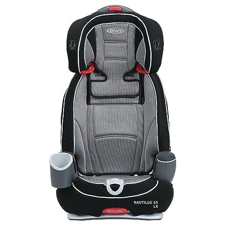 Amazon Graco Nautilus 65 LX 3 In 1 Harness Booster Car Seat Matrix Baby