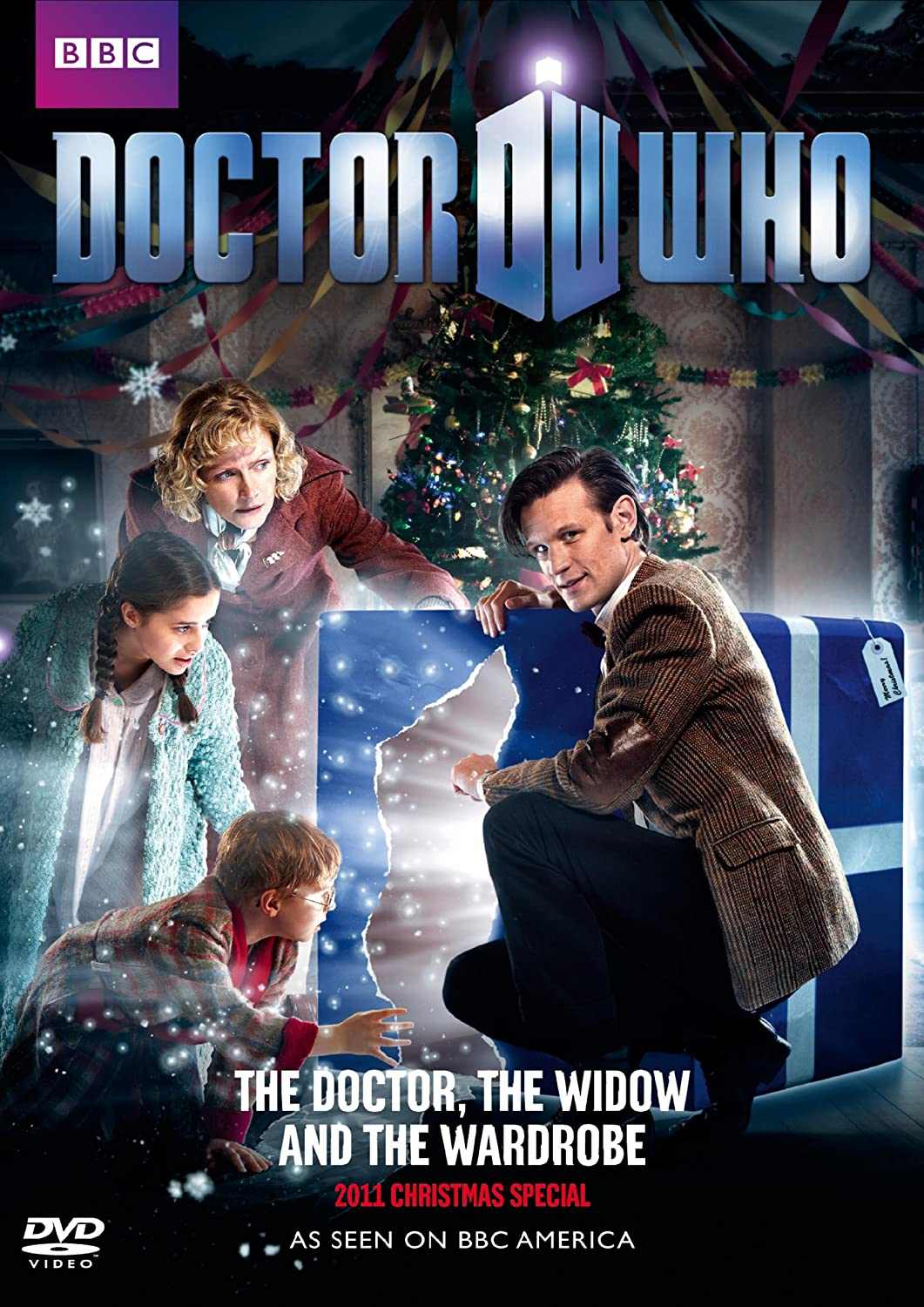 Image result for Doctor Who: A Christmas Carol and The Doctor, the Widow, and the Wardrobe, with Matt Smith as The Doctor