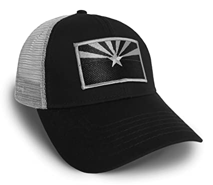 c58fef26 ... promo code for strange cargo arizona flag black and grey baseball cap  hat 94634 1b8bd