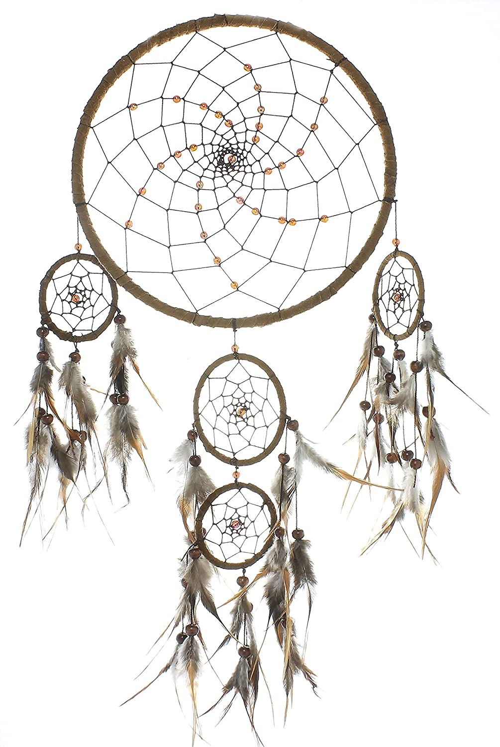 Earth Vibes Dreamcatcher,Large Brown Cosmic Dream Catcher, Dreamcatcher, Wall Hanging, Home Decor