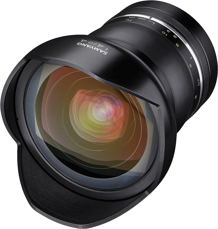 Samyang SAMXP14F24CANON - Objetivo XP 14mm F2.4 Canon Ae, Color ...