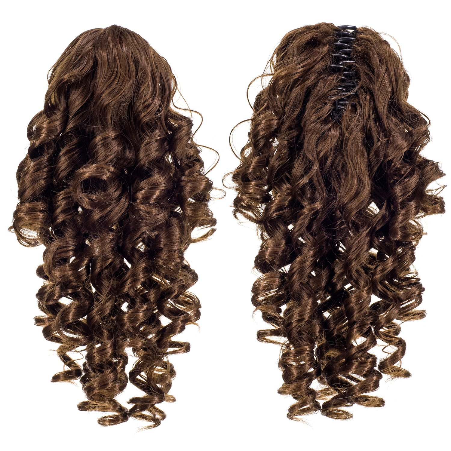 Amazon Onedor 12 Synthetic Fiber Natural Textured Curly