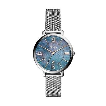 Fossil Reloj Analogico para Mujer de Cuarzo con Correa en Acero Inoxidable ES4322: Amazon.es: Relojes