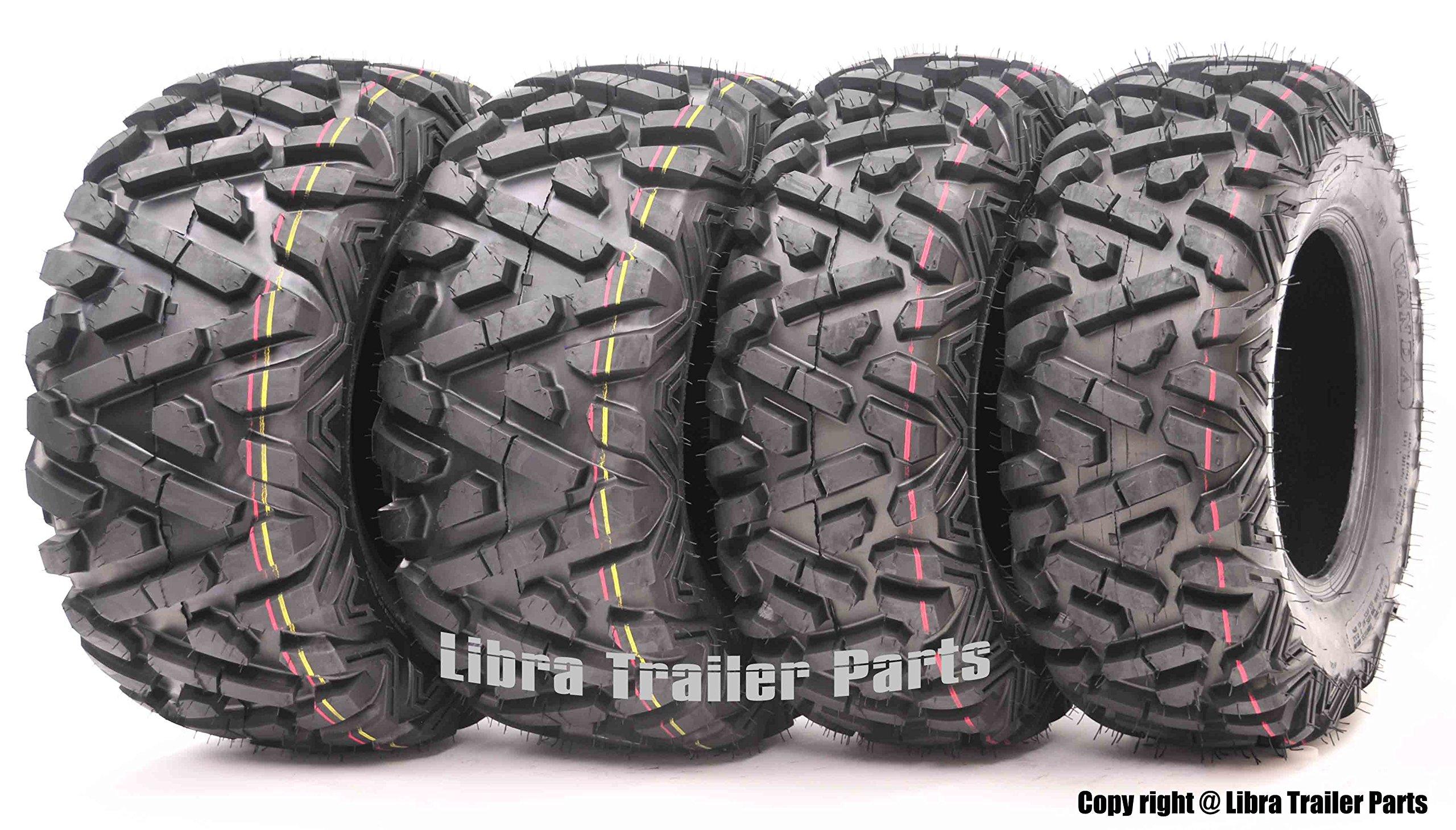 Set of 4 New WANDA ATV/UTV Tires 24x8-12 Front & 24x9-11 Rear /4PR P350 - Deep Solid Tread …