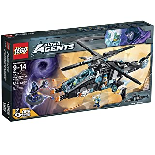 LEGO Ultra Agents UltraCopter vs. Antimatter Toy - 70170 6100986
