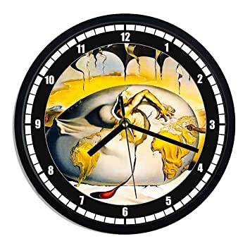 Reloj de pared de plástico Salvador Dali – Metafisica