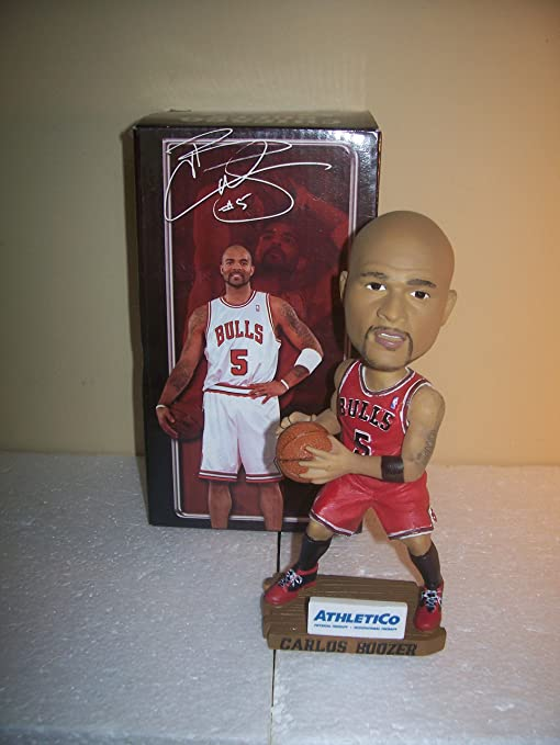 e99550044cd5 Image Unavailable. Image not available for. Color  Carlos Boozer Chicago  Bulls 2010 SGA Bobblehead