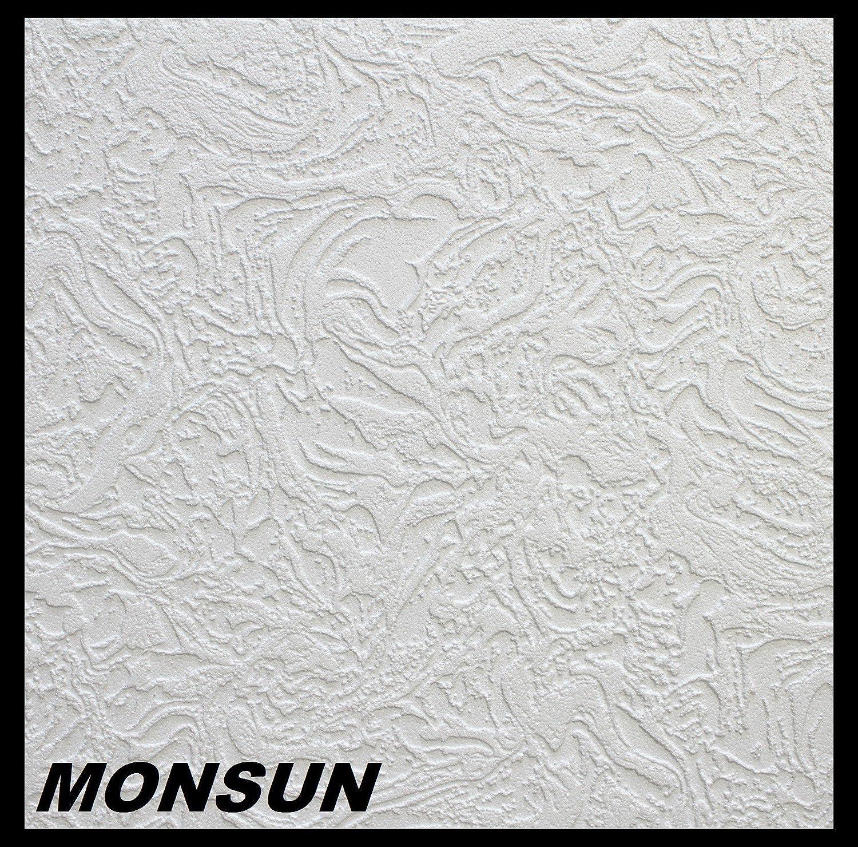 1 M² Deckenplatten Styroporplatten Stuck Decke Dekor Platten 50x50cm,  MONSUN: Amazon.de: Baumarkt