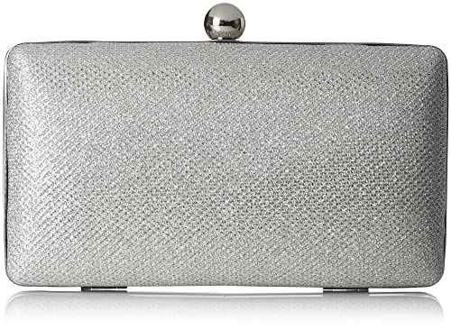MENBUR - Basseterre, Carteras de mano Mujer, Grau, 6x10x18 cm (B x