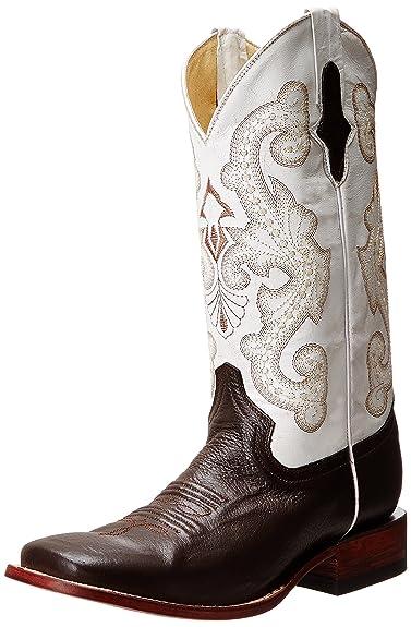 9cfc988d68a Ferrini Men s Python Cowboy Boot Square Toe Black 9 EE US
