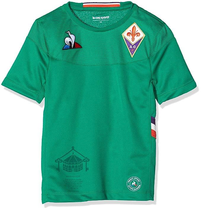 le coq Sportif Fiorentina Maillot Replica Dom SS Enfant Maglietta Bambino