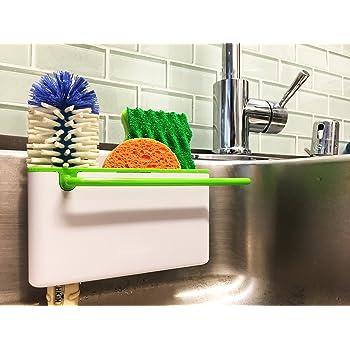 Merveilleux Star Element Sink Caddy Kitchen Soap,Sponge Holder And Brush Holder.  Multifunction Sink Organizer