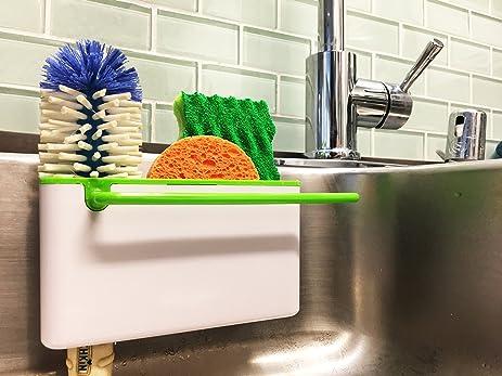 Amazon.com: Star Element Sink Caddy Kitchen Soap, Sponge Holder ...