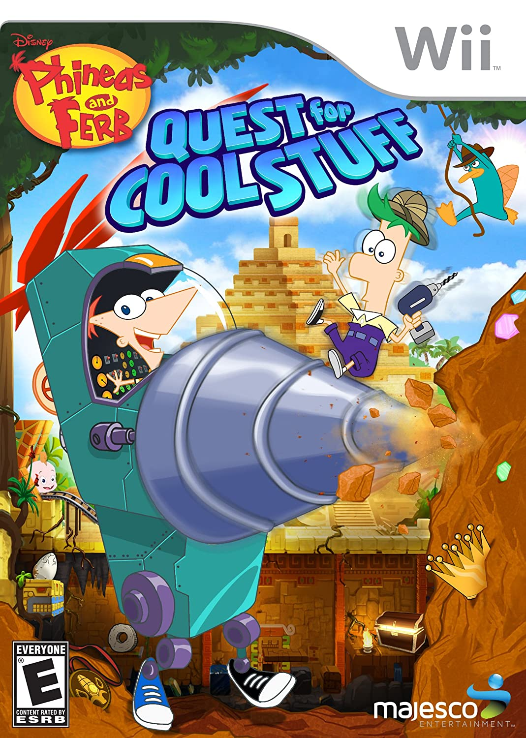 Phineas And Ferb Quest For Cool Stuff Nintendo Wii Video Games