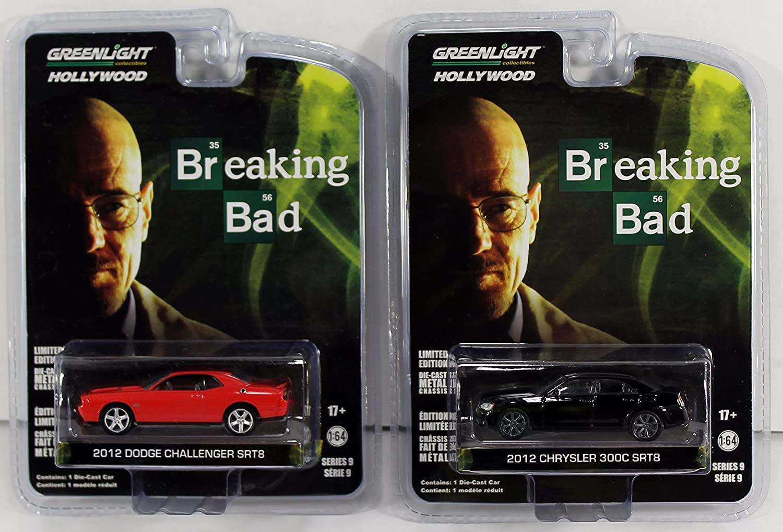 Breaking Bad 2012 Chrysler 300C SRT-8 Greenlight 1:64 Hollywood Series 9 Offic