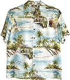 RJC Men's Paradise Island Surf Aloha Shirt