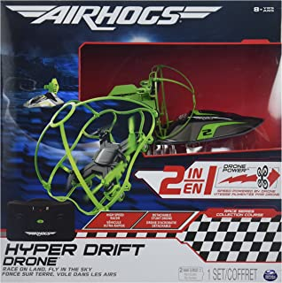 Air Hogs 2 In 1 Hyper Drift Drone For High Speed Racing And Flying