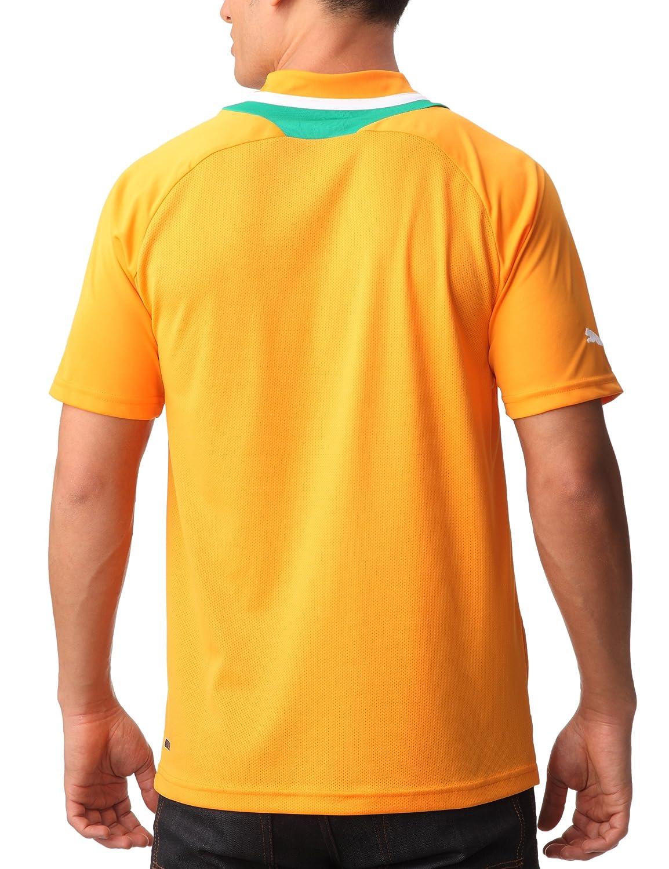 aa62201ab Puma Côte d Ivoire T-Shirt mixte adulte Orange XL  Amazon.fr  Sports et  Loisirs
