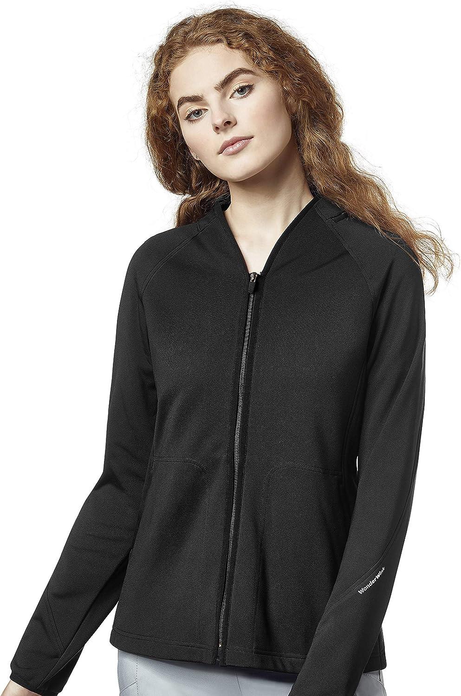 WonderWink Layers Women's 8209 Fleece Full Zip Jacket