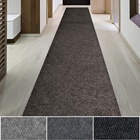 Icustomrug Spartan Weather Warrior Duty Indoor Outdoor Utility Berber Loop Carpet Runner Area Rugs 3ft 4ft 6ft Widths 70 Custom Sizes With Natural Non Slip Rubber Backing 6 X 6 In Brown Amazon Ca Home Kitchen
