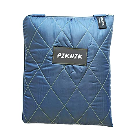 Zip Up Picnic Blanket.Luxelu Washable Picnic Blanket Picnic Rug 140 X 135cm Lightweight Zip Up Outdoor Picnic Rug With Carry Strap Lime Green Navy Blue Stripe