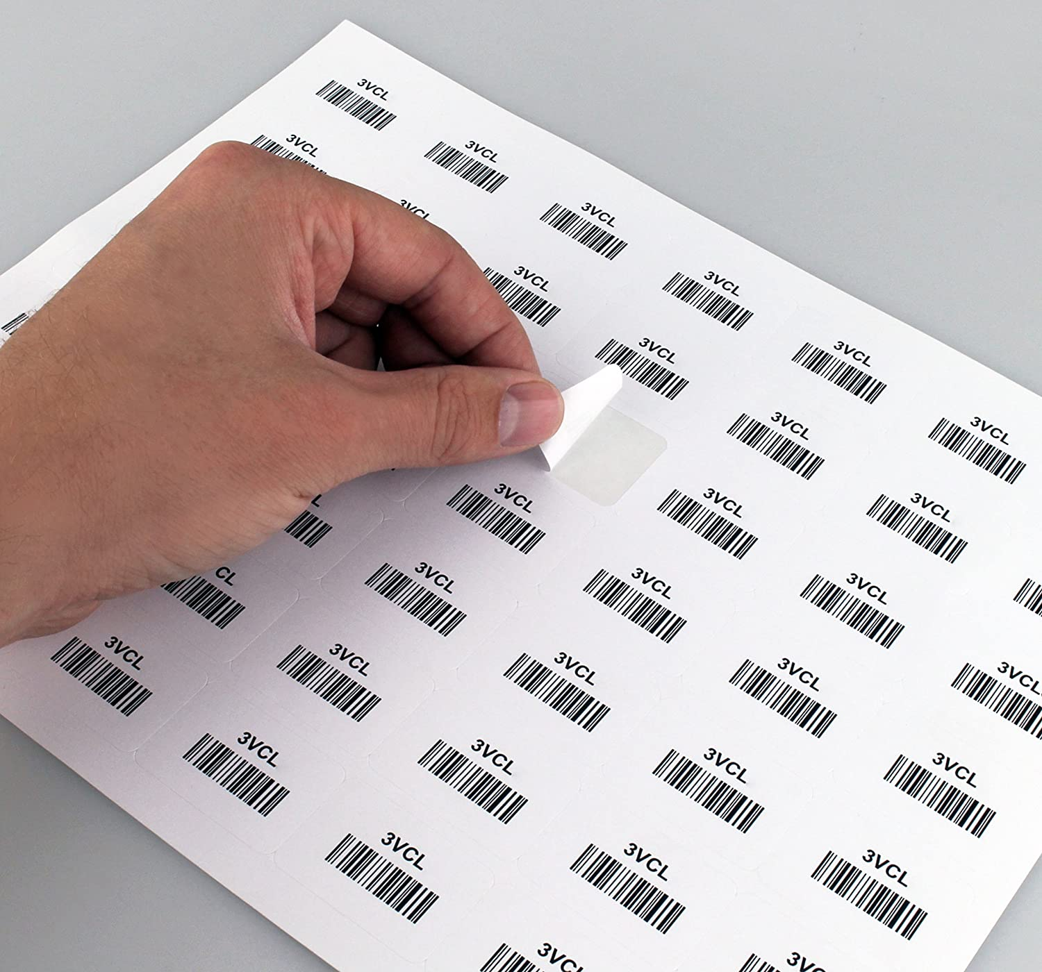 49 Labels//Sheet ChromaLabel 1 x 1-1//2 inch Printable Labels for Laser and Inkjet Printers 25 Sheets