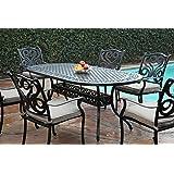 CBM Outdoor Cast Aluminum Patio Furniture 7 Pc Dining Set G CBM1290