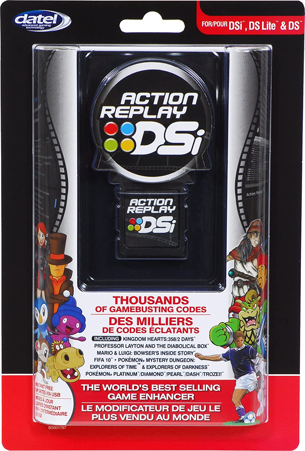 how do you add new codes to action replay dsi