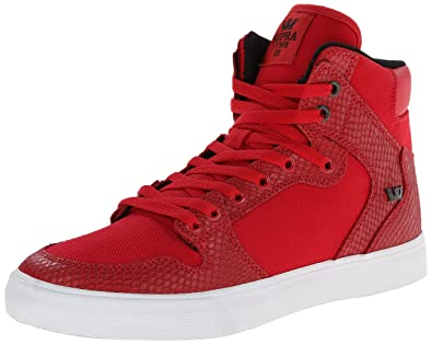 buy popular 1e934 b75be Supra Vaider Size 12 Red Snake- White Skate Shoes