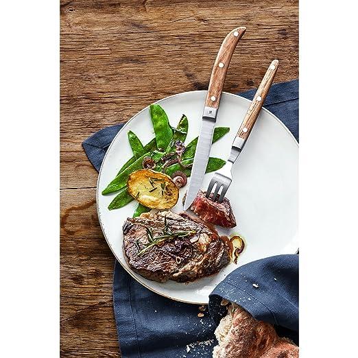 WMF Ranch Cubiertos para Carne (2 Piezas), Acero Inoxidable Pulido: Amazon.es: Hogar