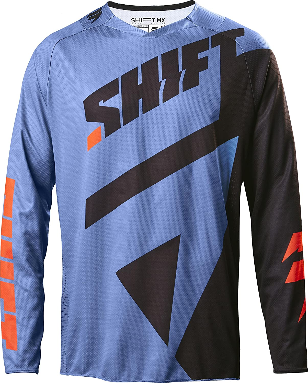 Shift 2019 Black Label Mainline Jersey-Black//White-XL