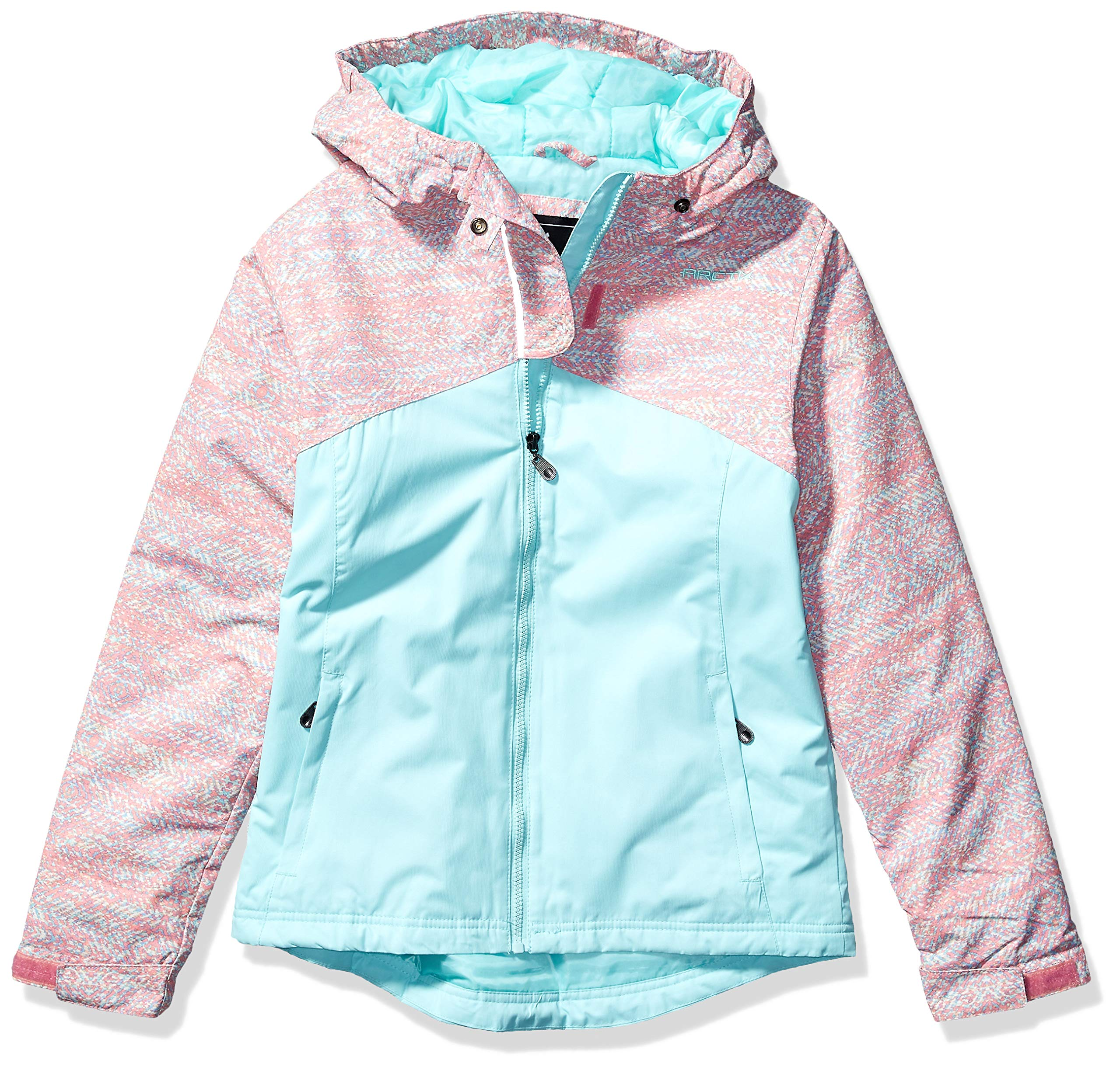 Arctix Girls Suncatcher Insulated Winter Jacket, Aztec Opal, Medium by Arctix