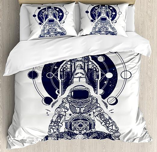 Fases lunares funda de edredón Set por lunarable, transbordador ...