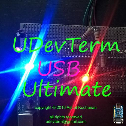 COM RS232 USB Terminal Modem