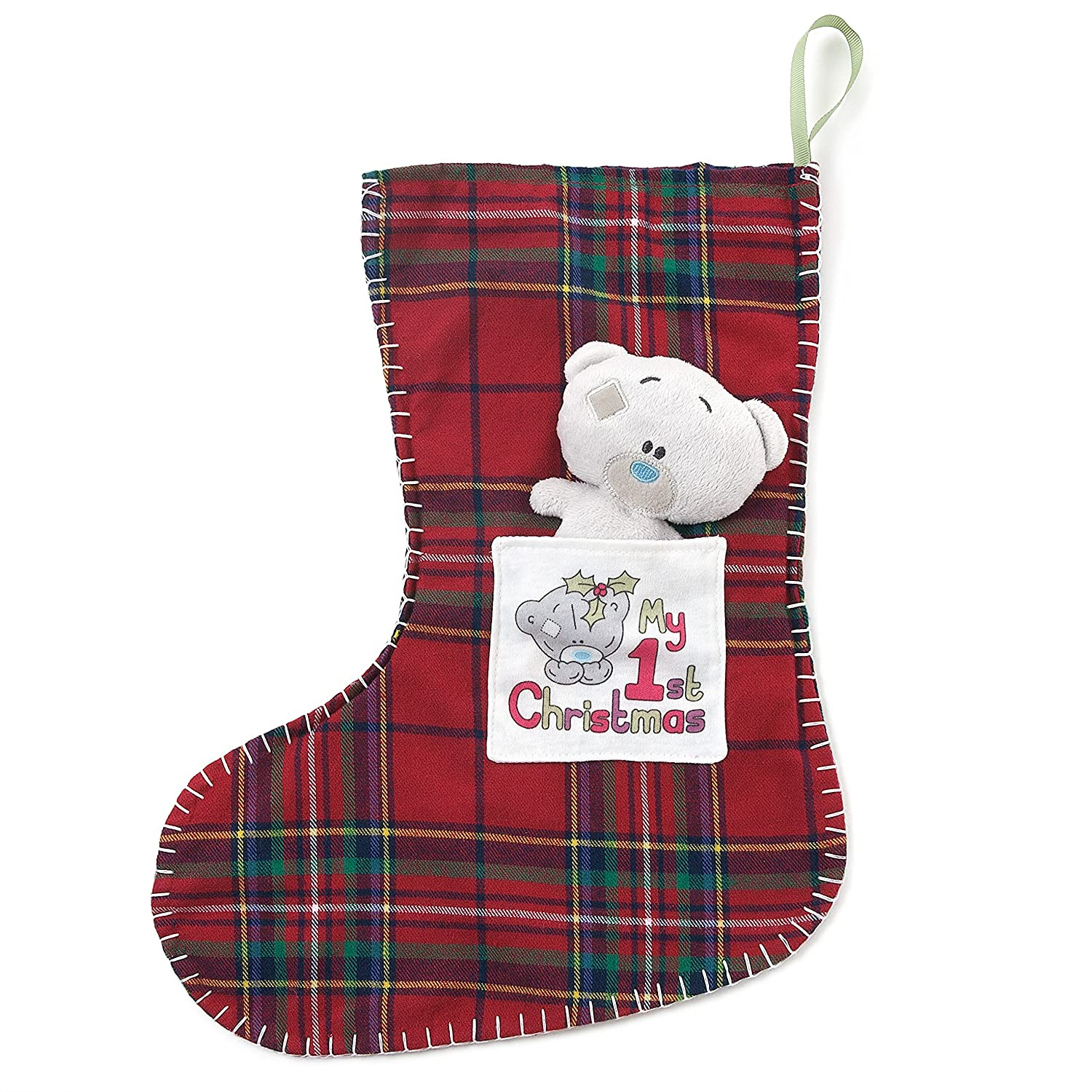 Tiny Tatty Teddy Me To You My 1st Christmas Stocking and Teddy Bear Soft Toy G92Q0161
