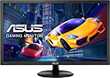 ASUS VP228HE 21.5 Inch FHD (1920 x 1080) Gaming Monitor, 1ms, HDMI, D-Sub, Low Blue Light, Flicker Free, TUV Certified - Black