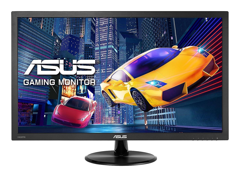 ASUS VP228HE 21,5 pouces FHD (1920 x 1080) Gaming Moniteur, 1ms, HDMI, D-Sub, faible lumière bleue, sans scintillement, certifié TUV - Noir Asustek faible lumière bleue certifié TUV - Noir 90LM01K0-B05170